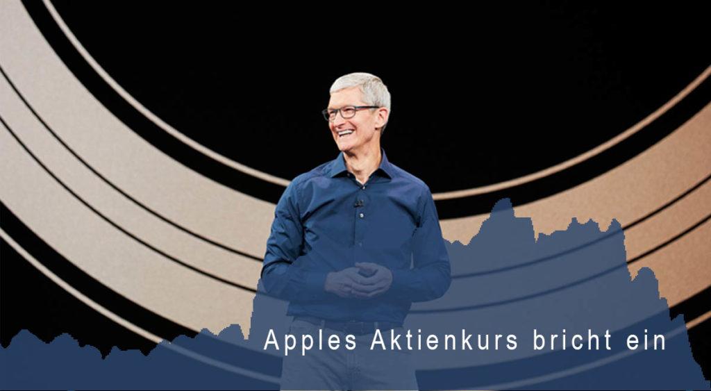 Apples Absturz