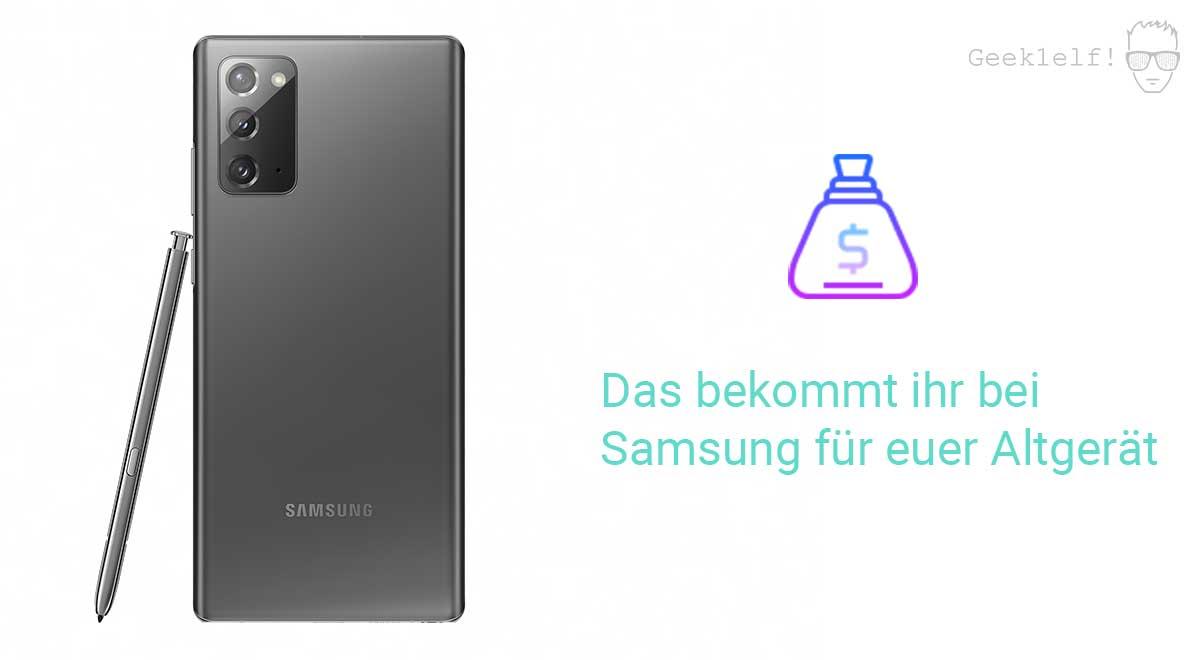 Samsung Trade In Programm