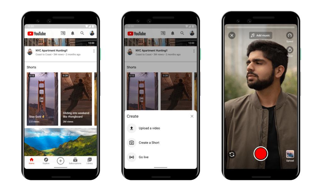 YouTube Shorts App